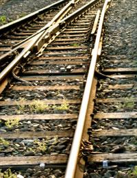 線路の切換えポイント