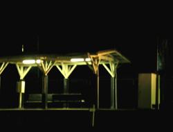 夜の無人のホーム