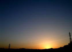 太陽の余韻
